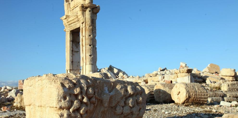 Estado Islámico transformó las bellas ruinas de Palmira en escombros
