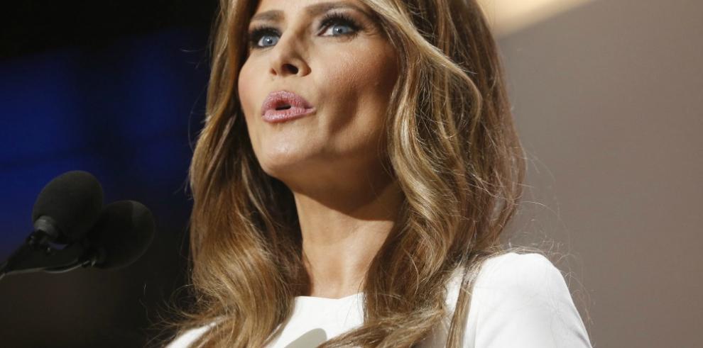 Redactora del discurso de Melania Trump incluyó frases de Obama