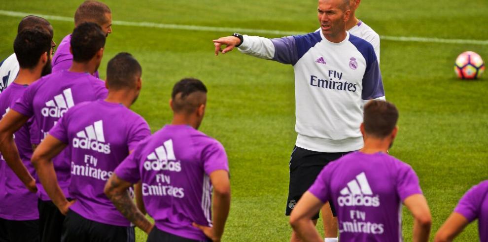 Zidane sube el ritmo de los entrenamientos