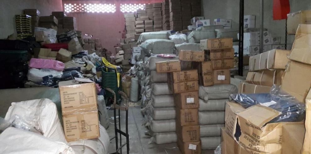 Decomisan mercancía presuntamente falsificada, valorada en $18,000