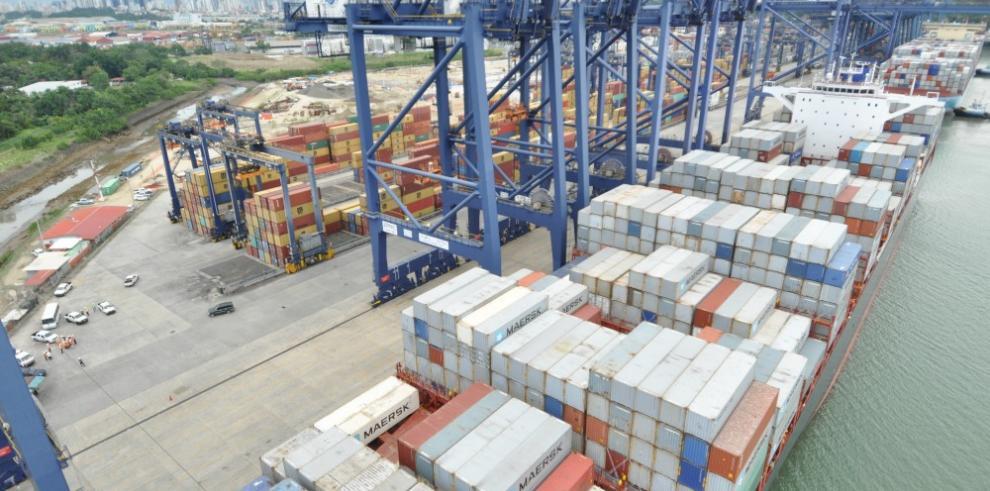 Auge de carga rodante en puertos