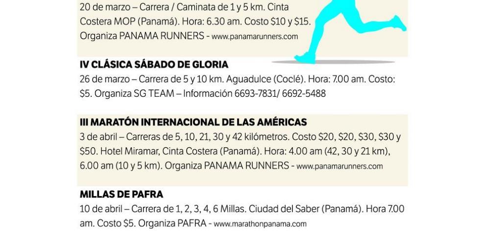Carreras y tradición panameña mezclados en 'Cutarra Runners'