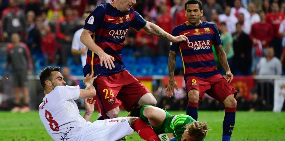 Mathieu se perderá la Eurocopa, Umtiti le sustituye