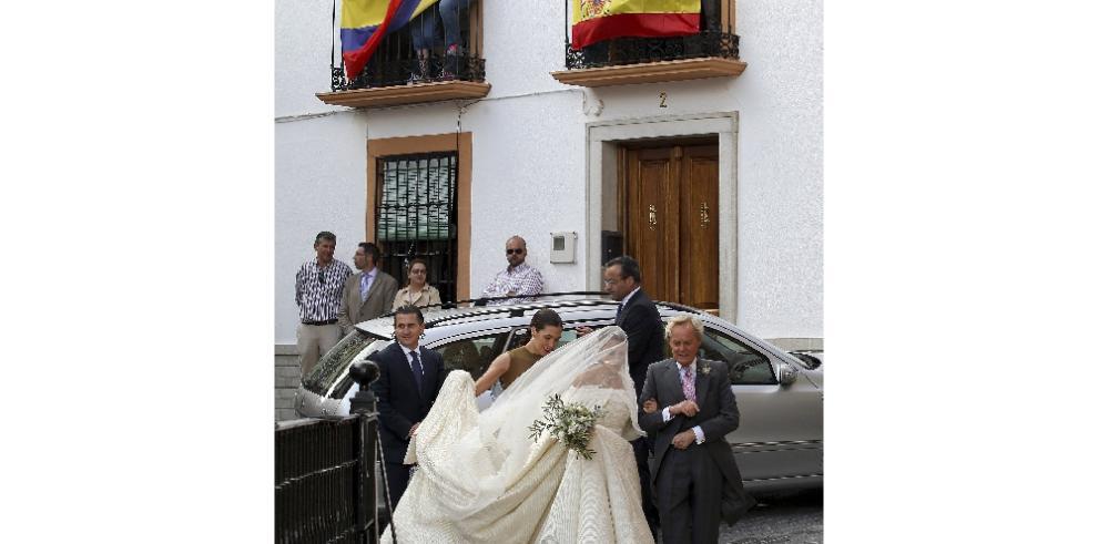Desfile de famosos en boda de Lady Charlotte y Alejandro Santo Domingo