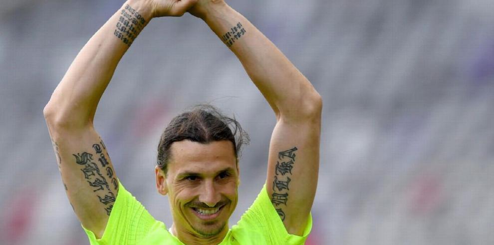 Ibrahimovic llega al United a ganar y no a perder el tiempo