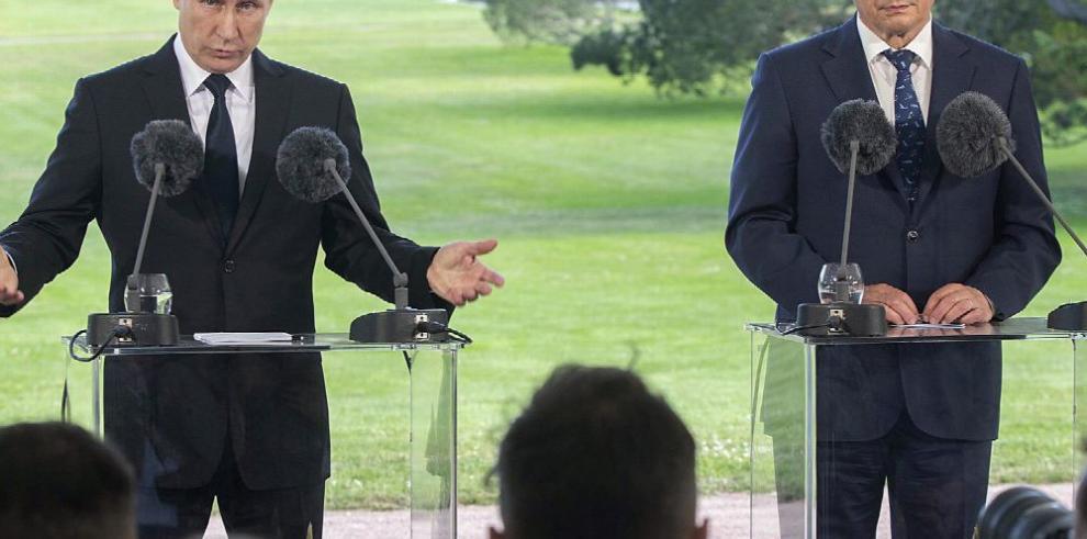 Putin advierte a Finlandia que si ingresa a la OTAN moverá sus tropas