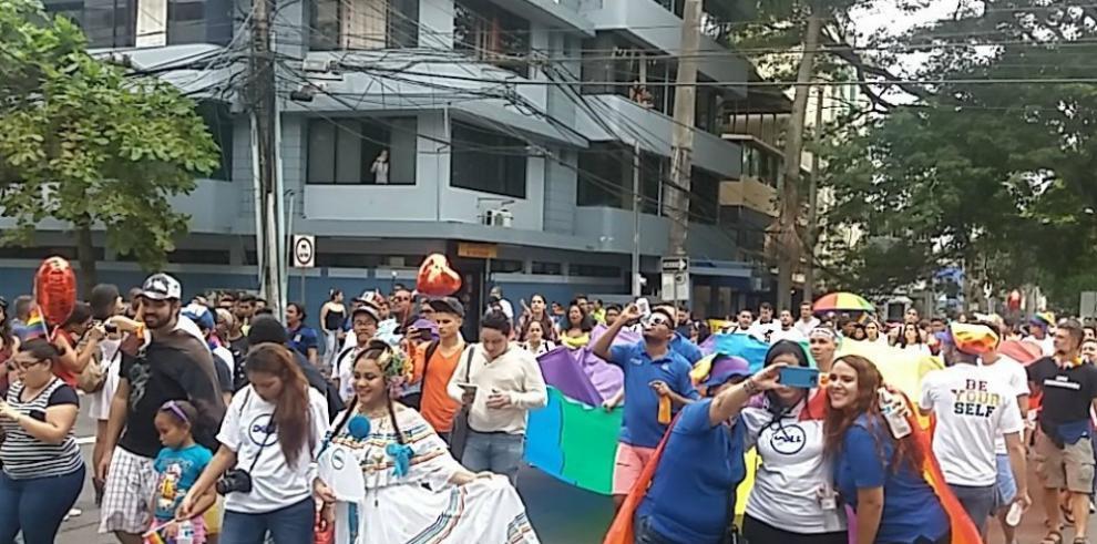 ComunidadLGBT de Panamá realizaMarcha del Orgullo Gay