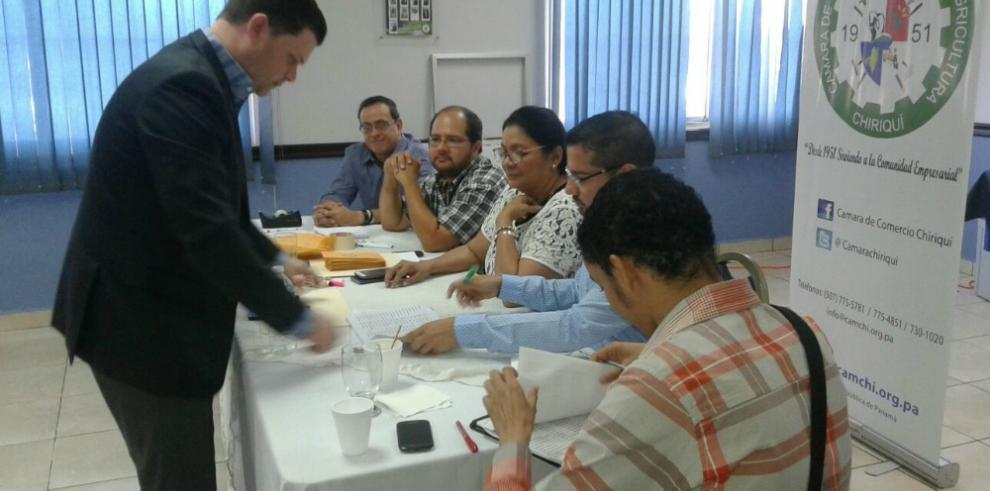 Cámara de Comercio de Chiriquí escoge su nueva junta directiva