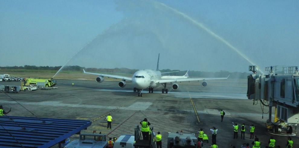 Lufthansa llega con asientos llenos a Panamá