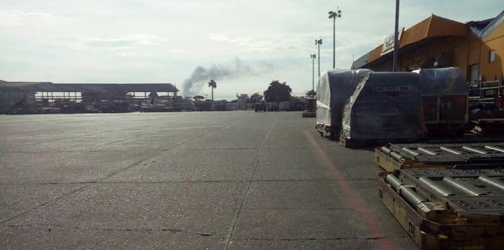 La zona de carga del aeropuerto Tocumen es 'tierra de nadie'