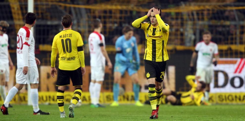 El Dortmund vuelve a pinchar y pierde la tercera plaza