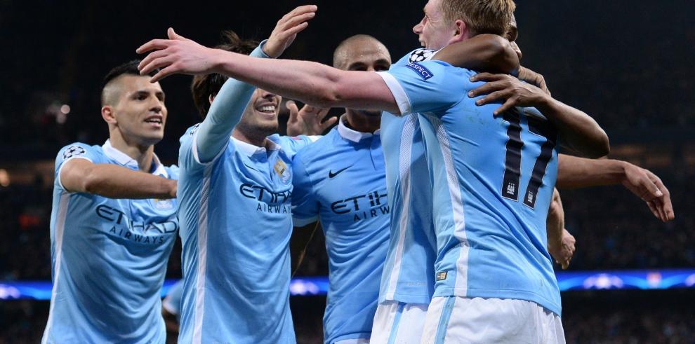 Manchester City derrota a PSG (1-0) y se mete en 'semis' de Champions