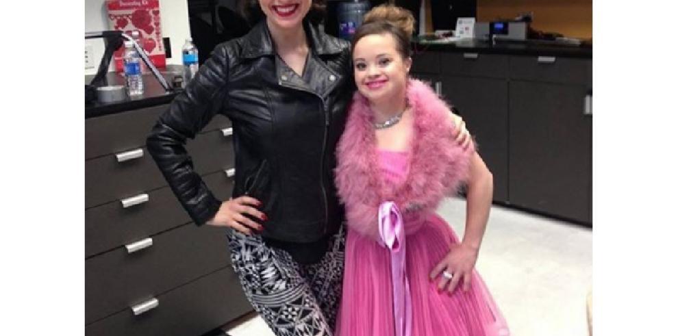 Katie, primera mujer con Síndrome de Down que es imagen de belleza