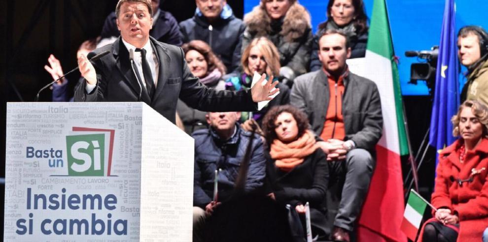Italianos deciden hoy si reforman o no la constitución del país