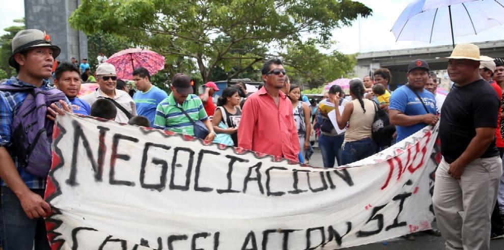 Se reactivan protestas contra Barro Blanco