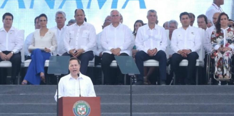 Presidente Varela reconoce que no apoyó la ampliación