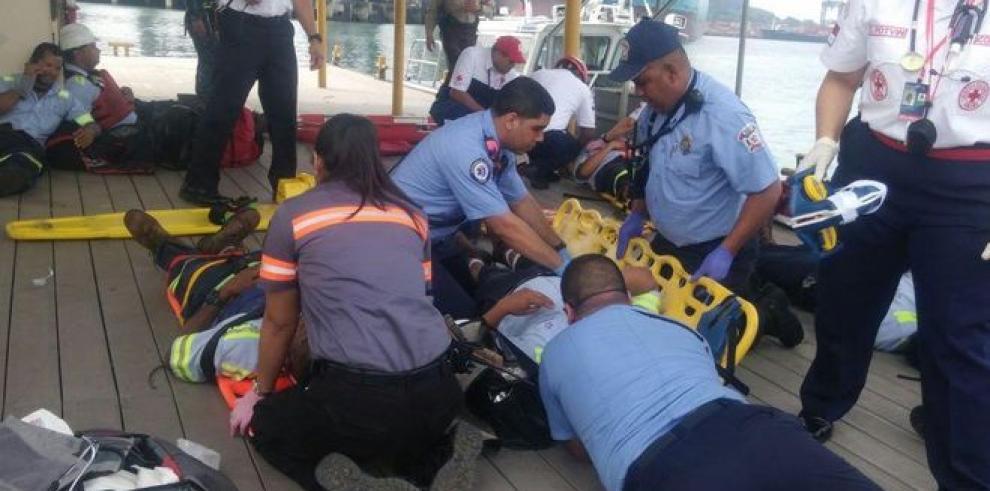 Colisión de un remolcador y una lancha de la ACP deja varios heridos