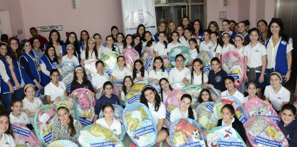 Damas Judías de Panamá hacen donación