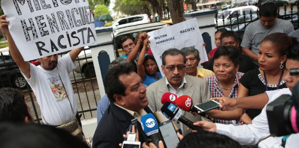 Indígenas del PRD acusan a Henríquez