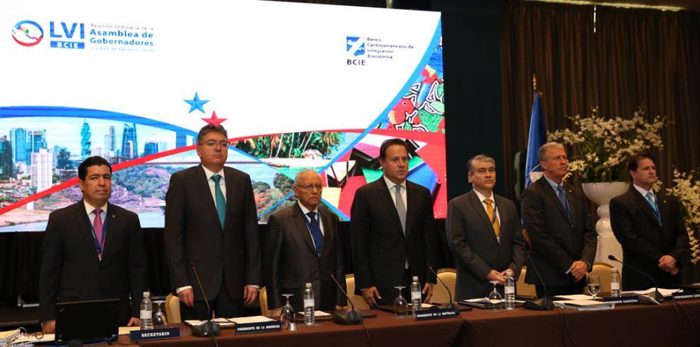 En Asamblea del BCIE, Varela destaca los aportes del Gobierno al país