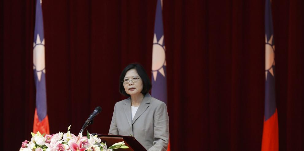 La presidenta taiwanesa viajará a Panamá y Paraguay