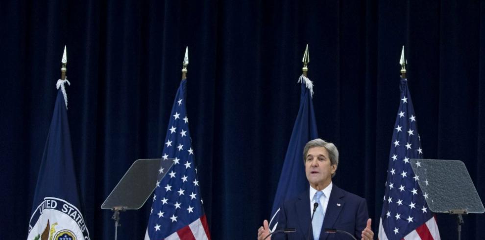 Kerry defiende idea de dos Estados para el Oriente Medio