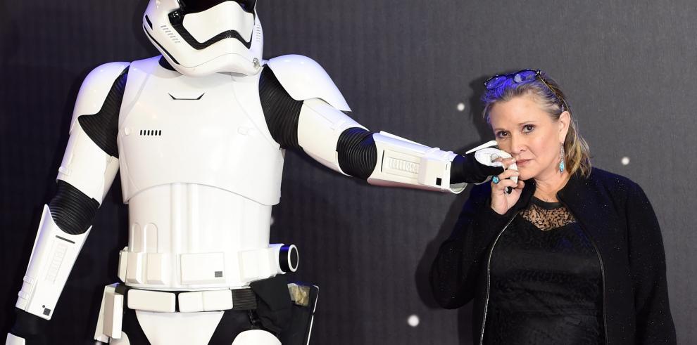 Carrie Fisher, adiós a la princesa