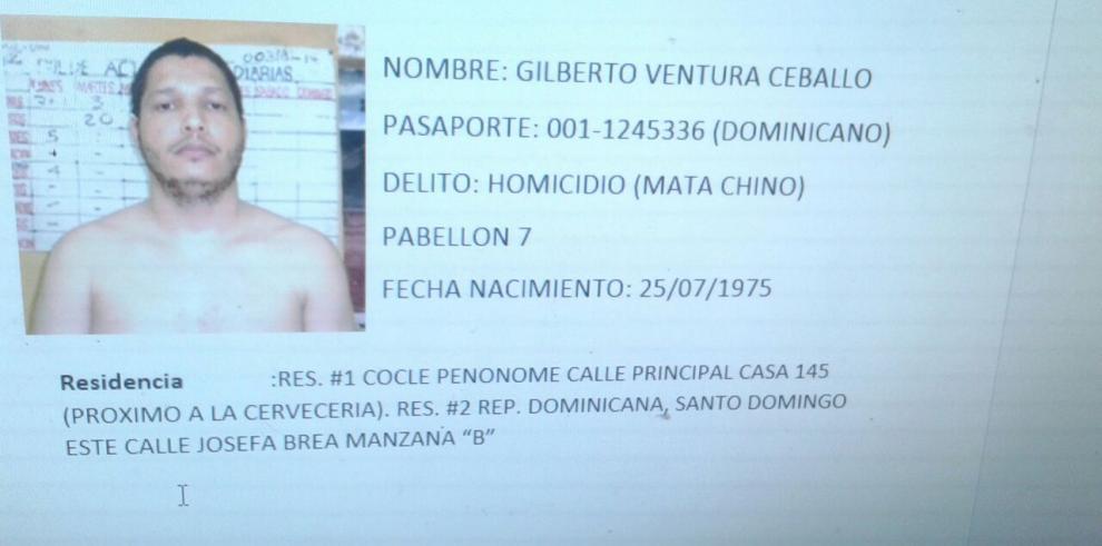 Se fugó Ventura Ceballos, detenido porcrímenes contra jóvenes chinos