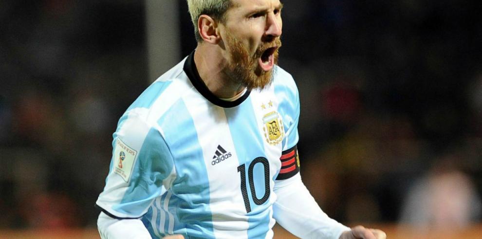 Messi, lesionado, es baja para el partido de Argentina ante Venezuela