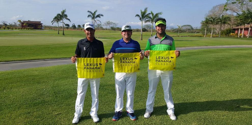 Norman, Ospina y Giori representarán al golf local