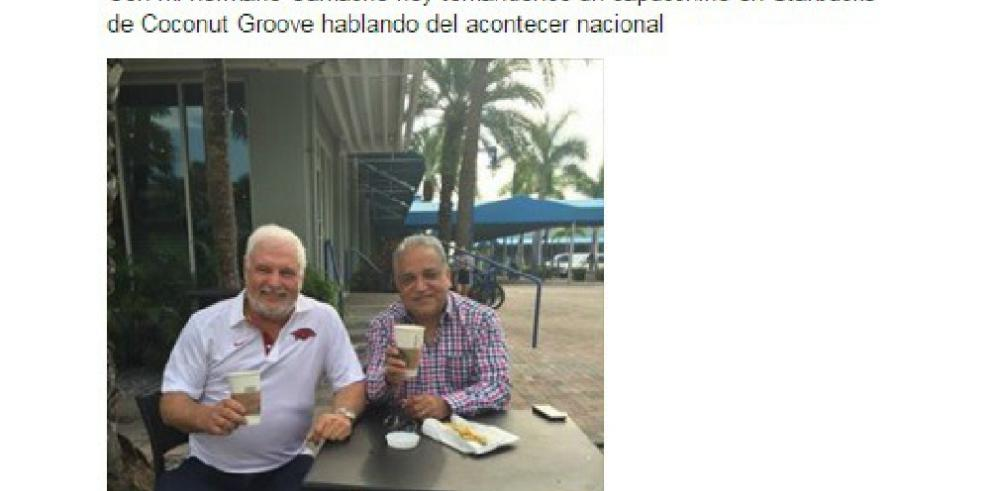 Camacho, de leal empleado a hermano incondicional de Martinelli