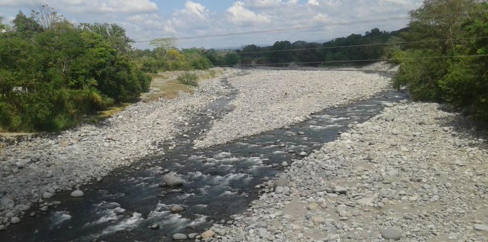 Fuerte verano seca los ríos de Chiriquí