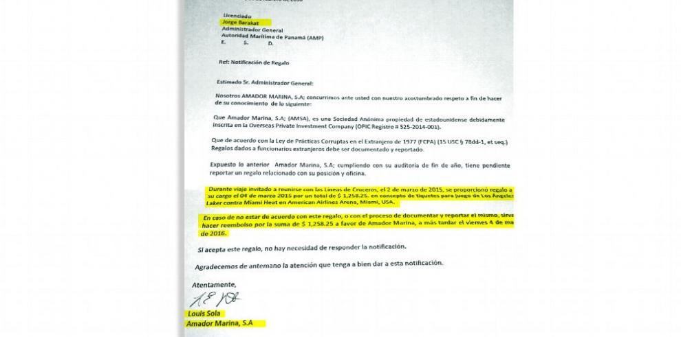 Antai investiga al administrador de la Autoridad Marítima