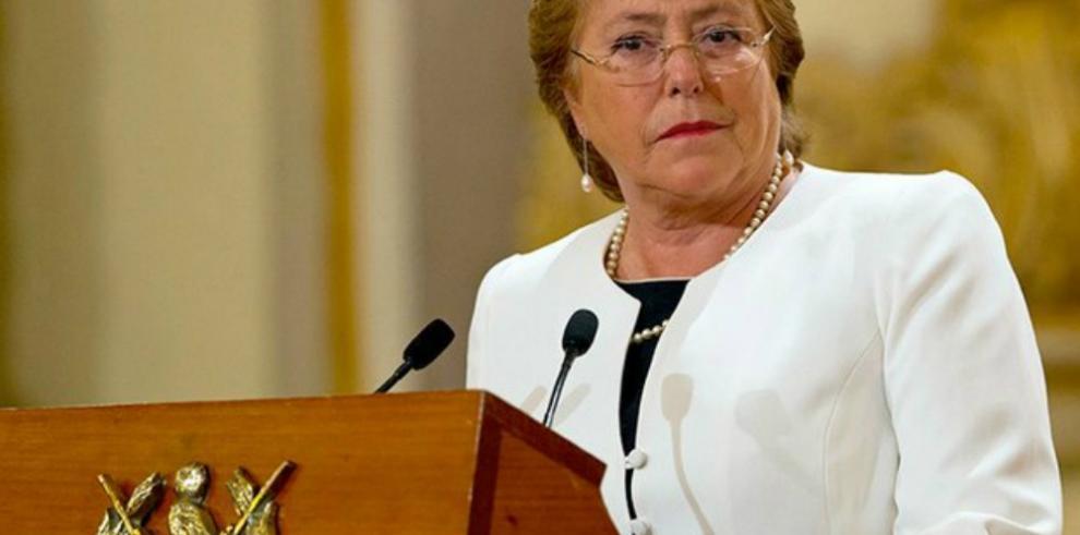 Bachelet asegura que protocolos de emergencia ya están operando