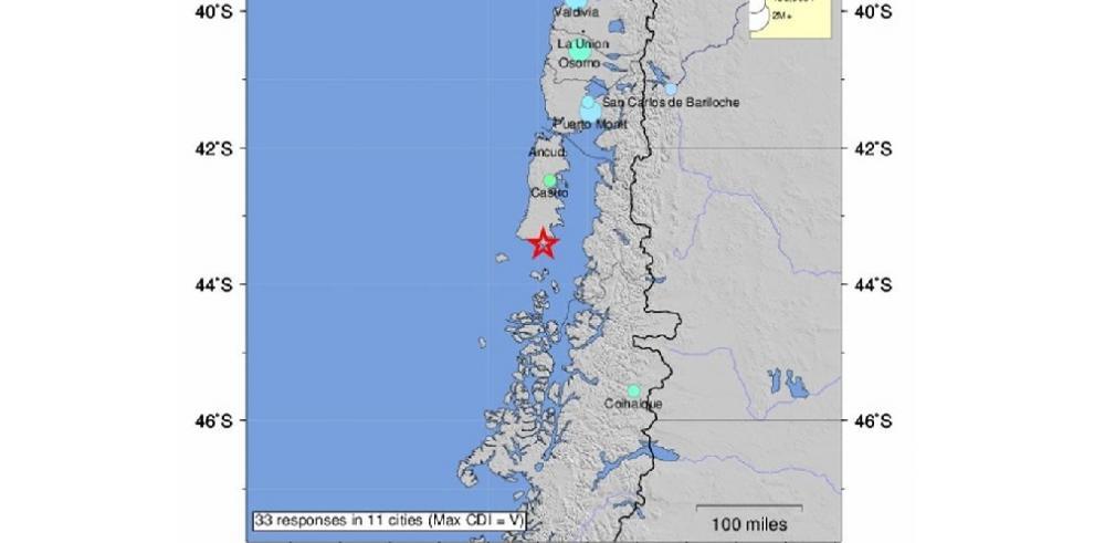 Sismo de 7,6 grados se registra en Chile y se declara alerta de tsunami