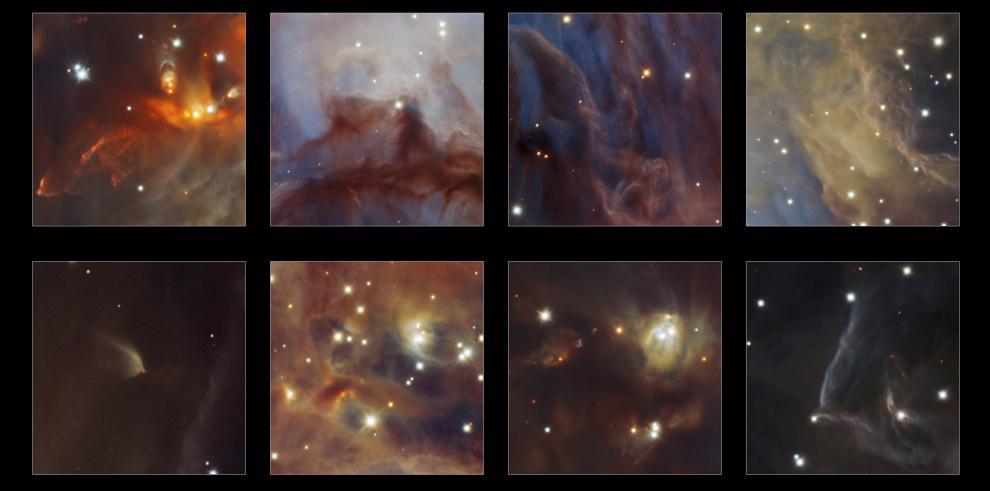 Descubren un enjambre de objetos de baja masa en nebulosa de Orión
