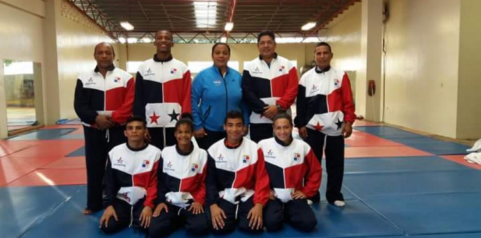 Selección de judo lista para el Codicader