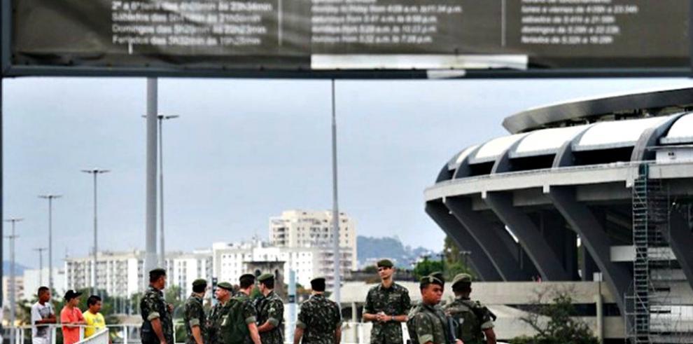 Brasil realiza una operación antiterrorista a 15 días de Río 2016