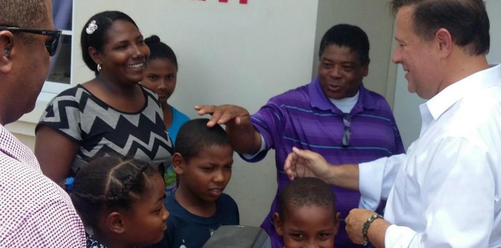 Entregan 92 viviendas en Panamá Norte