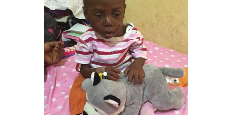 Hope, el niño de 2 años acusado de ser