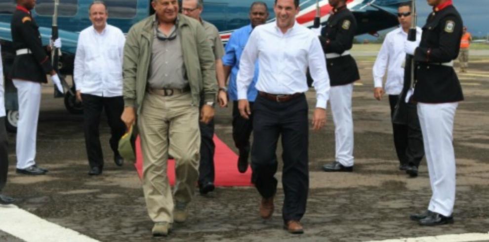 Visita del presidente de Costa Rica, enfocada en tema de seguridad