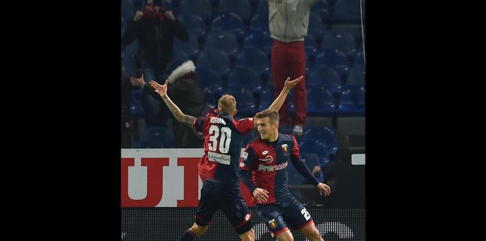 Genoa vence a la Fiorentina en Marassi