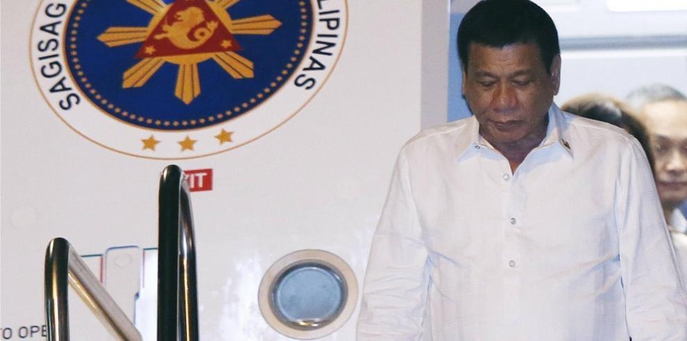 Cancelan reunión Obama-Duterte en Laos, confirma la Embajada de EEUU