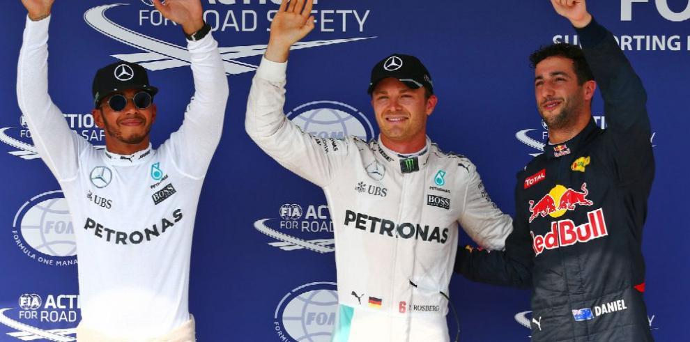 Hamilton se luce en el GP de Alemania