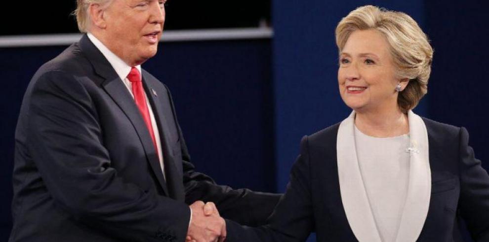 ¿Y si Hillary Clinton y Donald Trump quedan empatados?