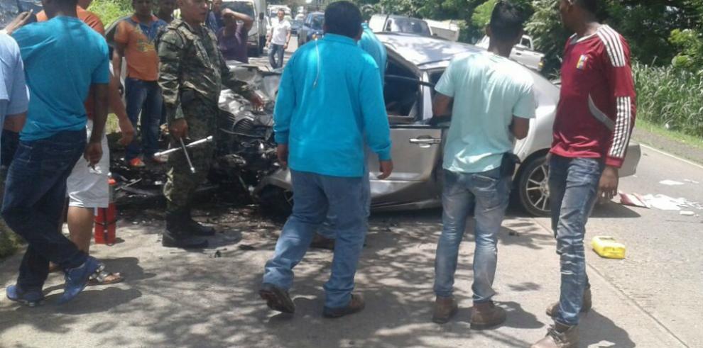 Accidente de tránsito deja un muerto y dos heridos en Chepo