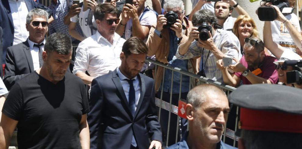 Messi dice que solo se dedicaba a jugar