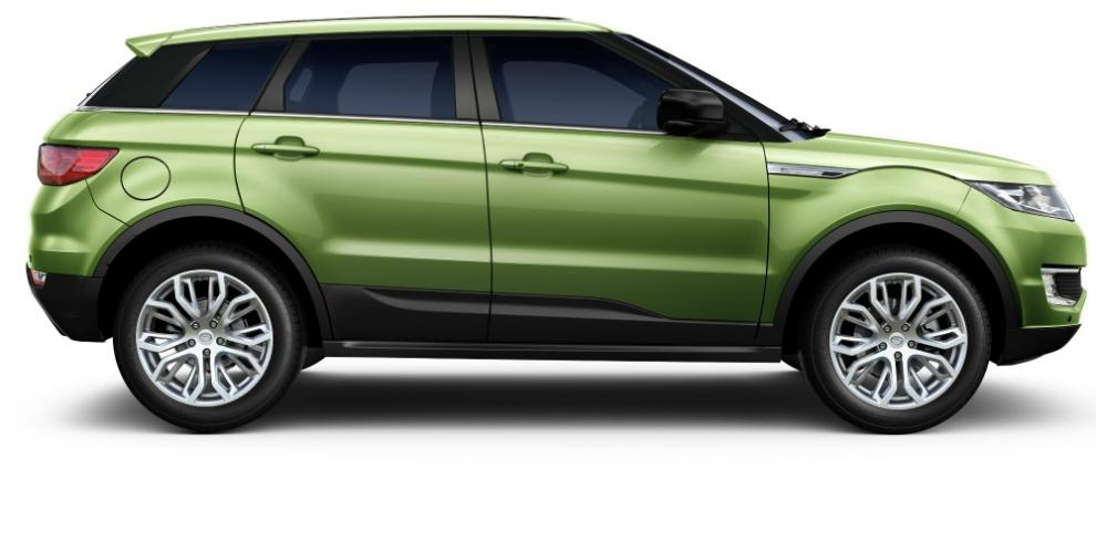 Land Rover demanda por propiedad intelectual el 'Evoque chino'