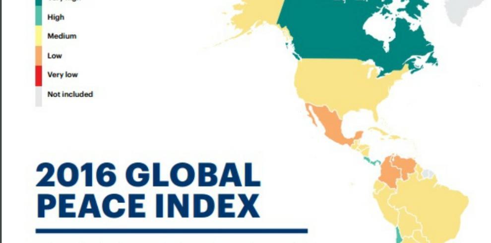 Panamá entre los países más pacíficos del mundo