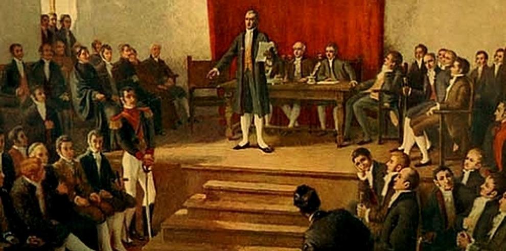 El primer Congreso de América Latina